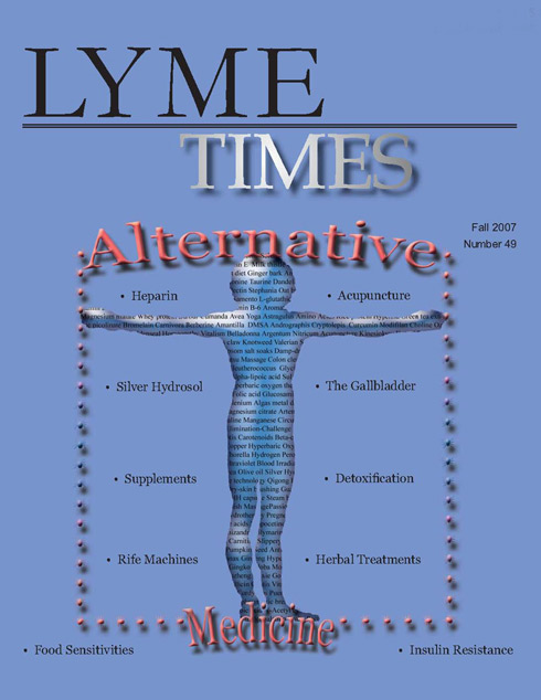 Lyme Times Alternative Medicine Lyme Disease Issue