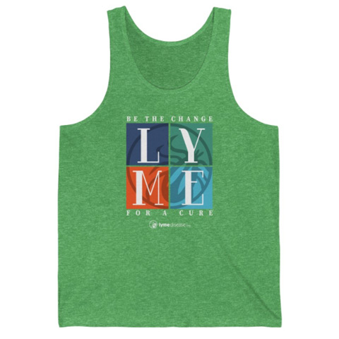 Be The Change For A Lyme Disease Cure Unisex Jersey Tank