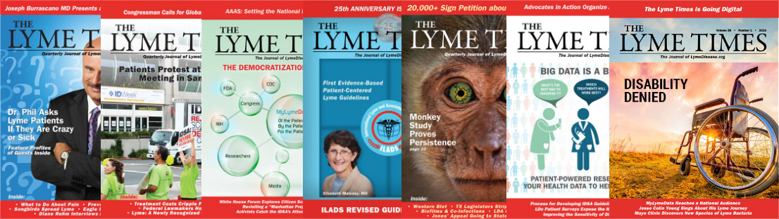 LYMETIMES ISSUES