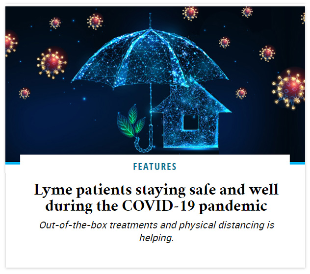 Lyme patients staying safe and well during the COVID-19 pandemic