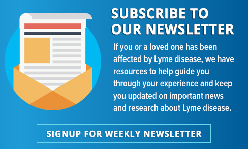Signup for LymeDisease.org Weekly Newsletter