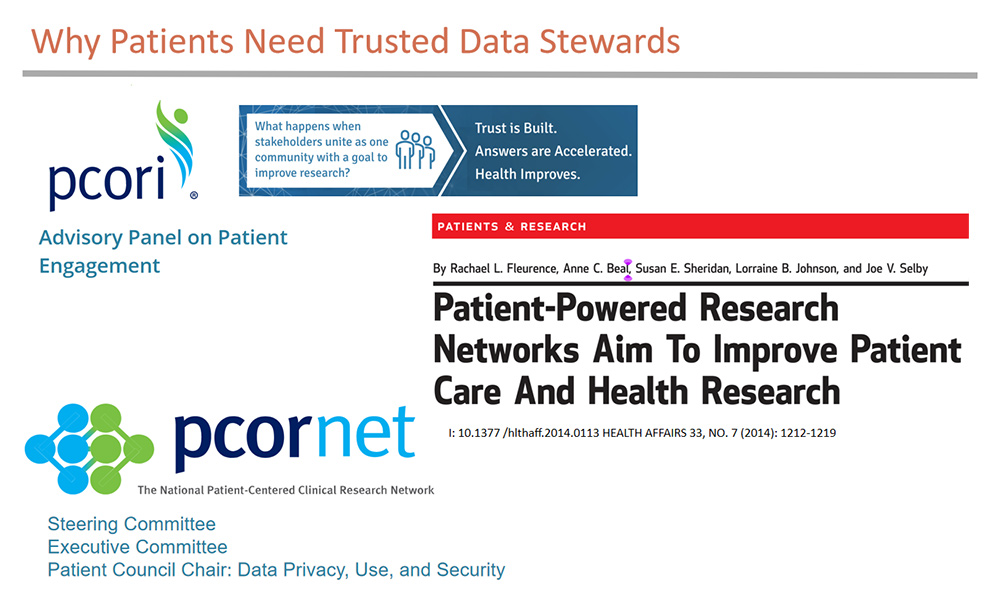 Patients need trusted data stewards