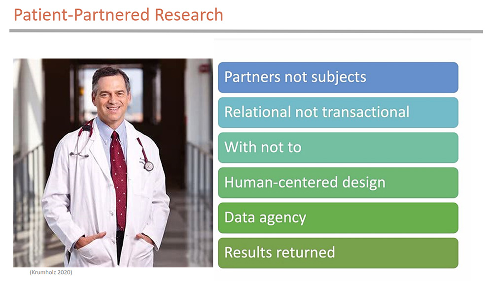 Dr. Harlan Krumholz - Patient-Partnered Research
