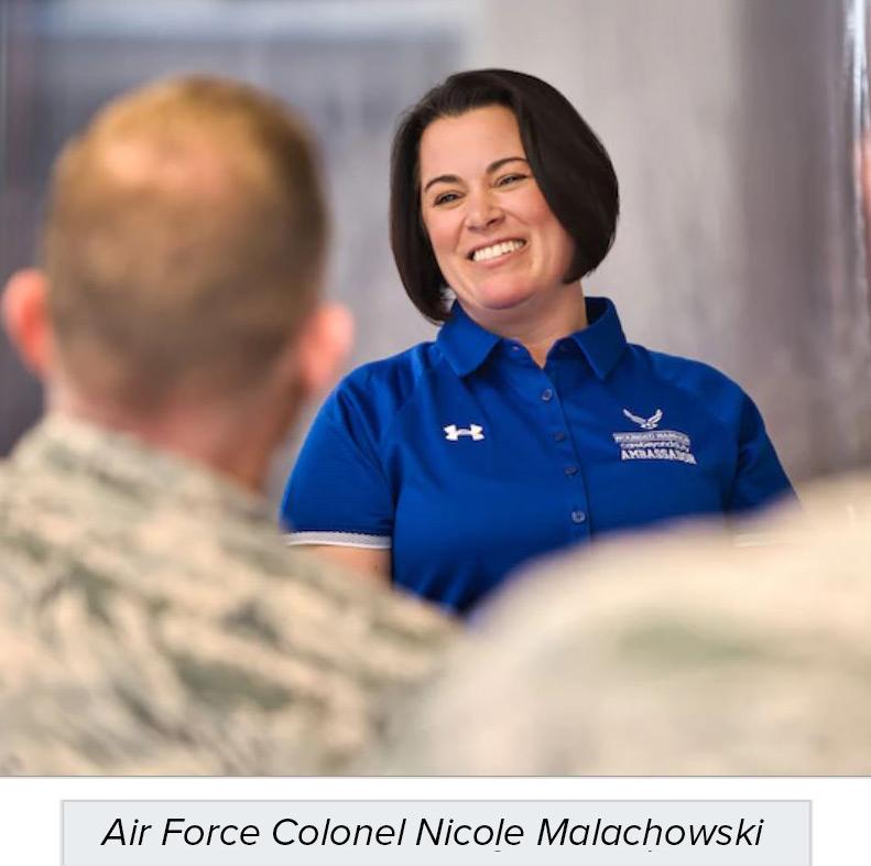Air Force Colonel Nicole Malachowski lyme disease