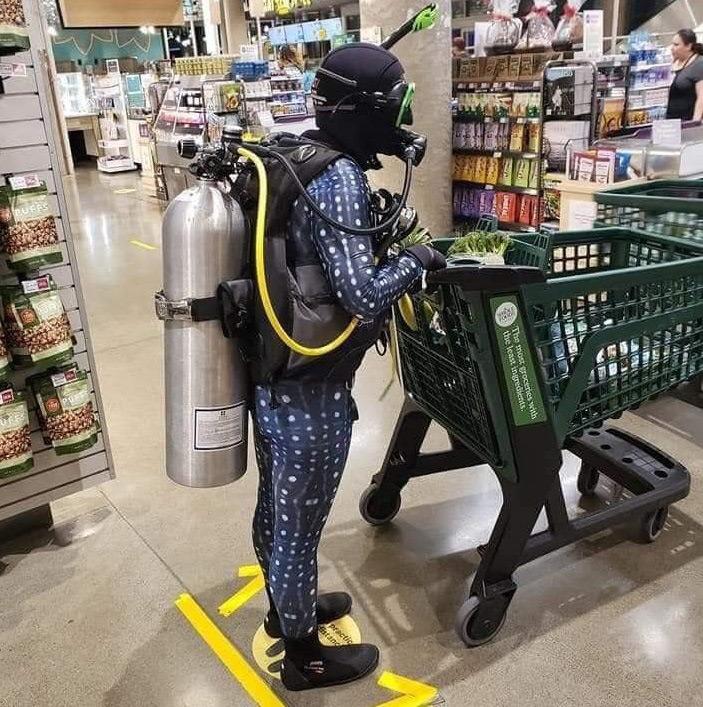Protective gear during coronavirus pandemic