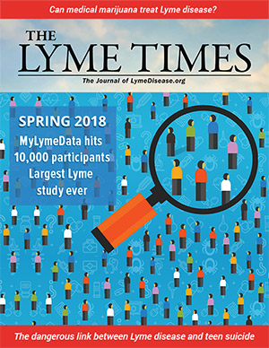 LymeTimes Spring 2018 - MyLymeData hits 10,000 participants — largest Lyme disease study ever