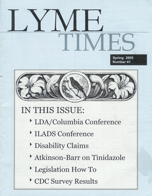 Lyme Times Spring 2005 Issue