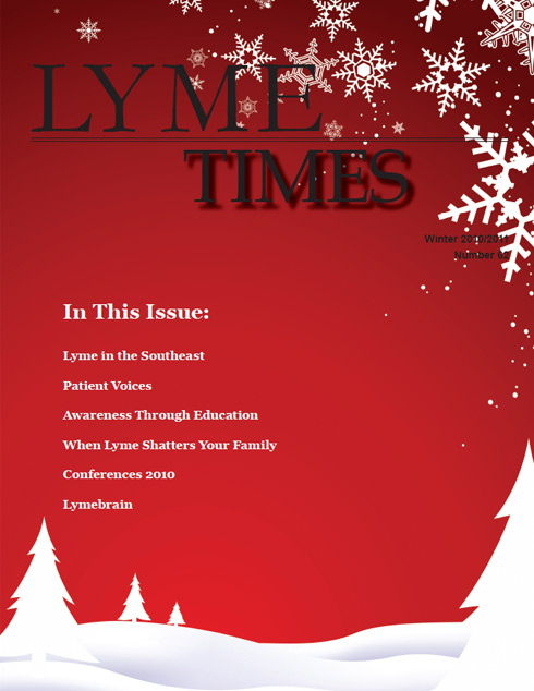 Lyme Times Winter 2010 Issue