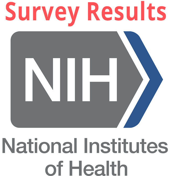 National Institutes of Health lyme disease survey result