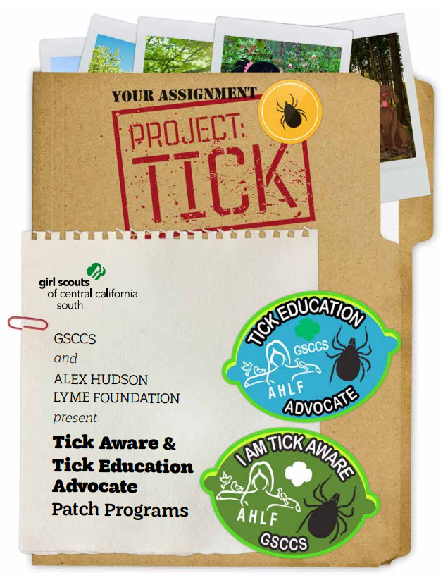 Project Tick Girl Scout Lyme Awareness Programs