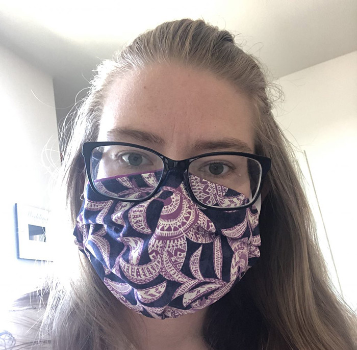 surviving covid-19 pandemic - wearing a mask can help