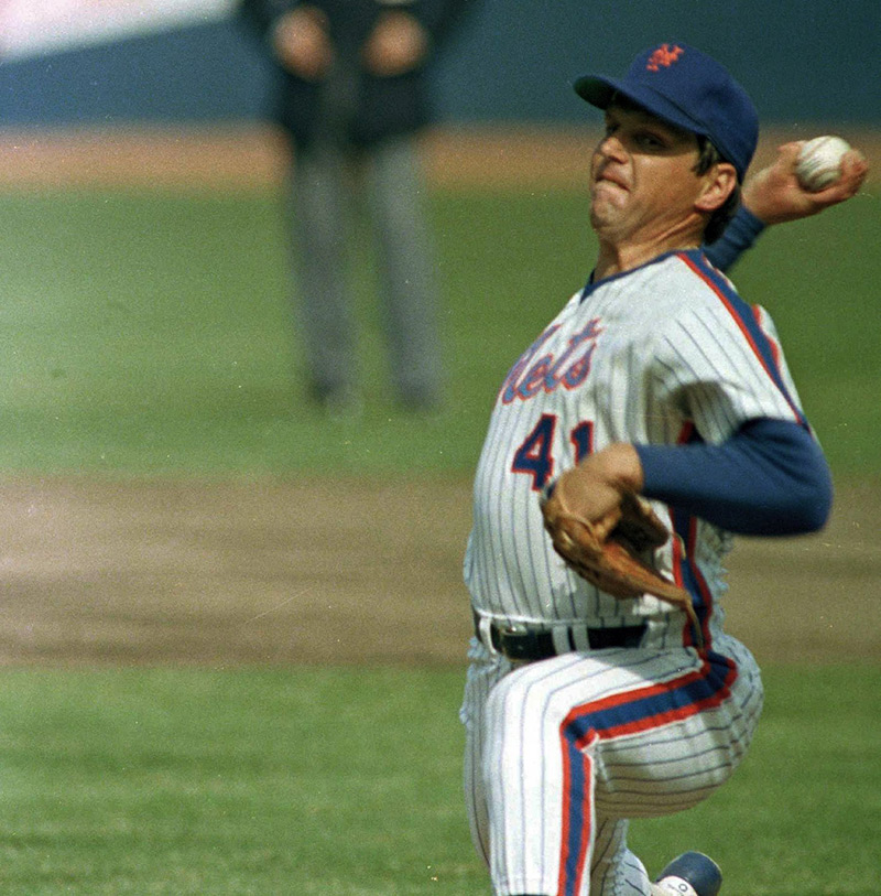 baseball Hall of Famer Tom Seaver was diagnosed with Lyme and dementia