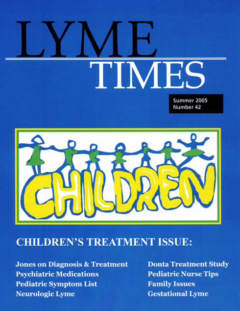 Lyme Times Children's Treatment Issue