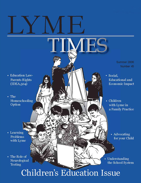 LymeTimes Children's Lyme Disease Education Issue