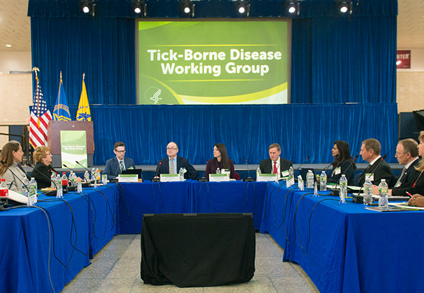 Tick-borne working group meeting