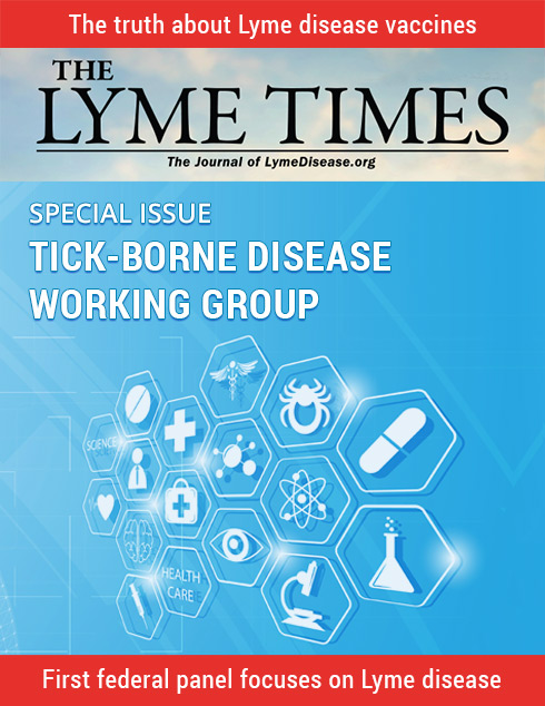 Tick-Borne Disease Working Group Cover