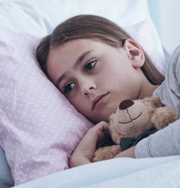 """Non-relevant"" Tick Bite Puts Child in Hospital"