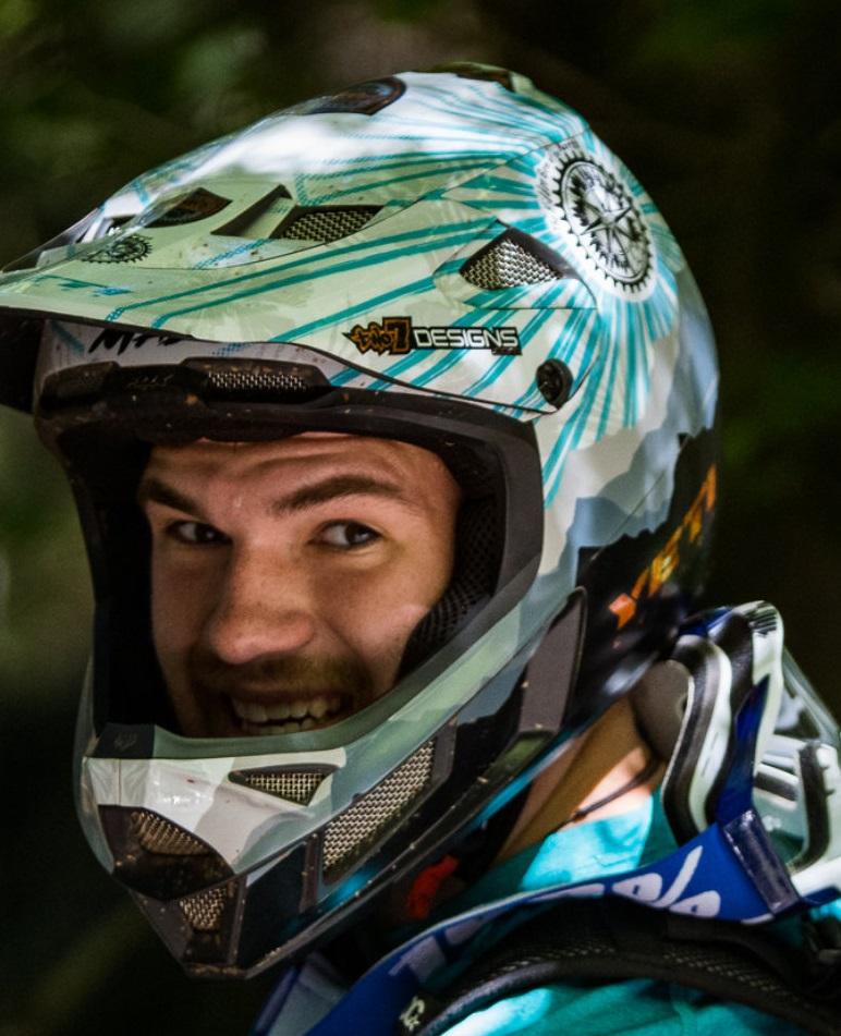 Mountain biker Max Fierek is fighting Lyme