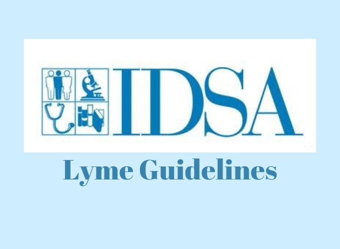 new IDSA guidelines for Lyme disease treatment
