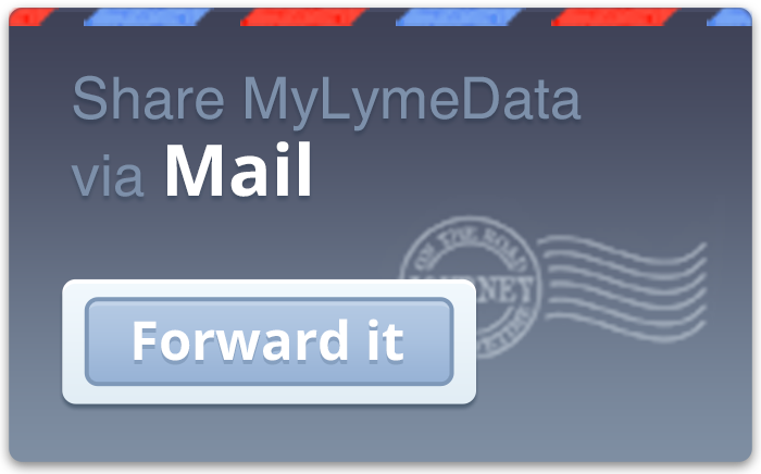 Share MyLymeData via Email