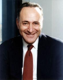 New York Senator Charles Schumer