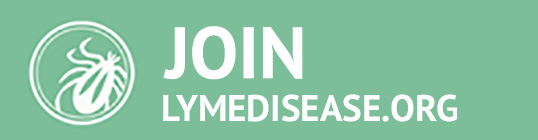 Join LymeDisease.org big green button