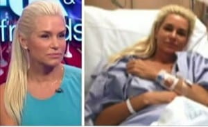 Yolanda Foster photo on TV and in hospital