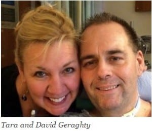photo of Tara and David Geraghty