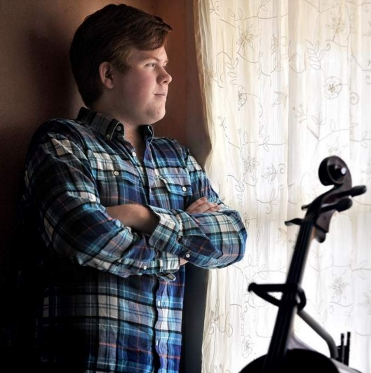 photo of Oregon boy with lyme disease looking out the window