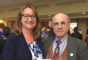 Lonnie Marcum & Dr. Kenneth Liegner at ILADS 2016