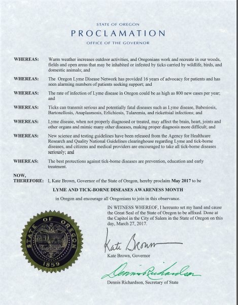oregon proclamation 2017