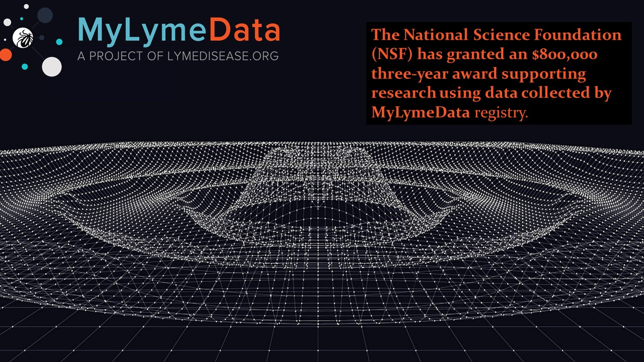 NSF to support Lyme disease research from MyLymeData