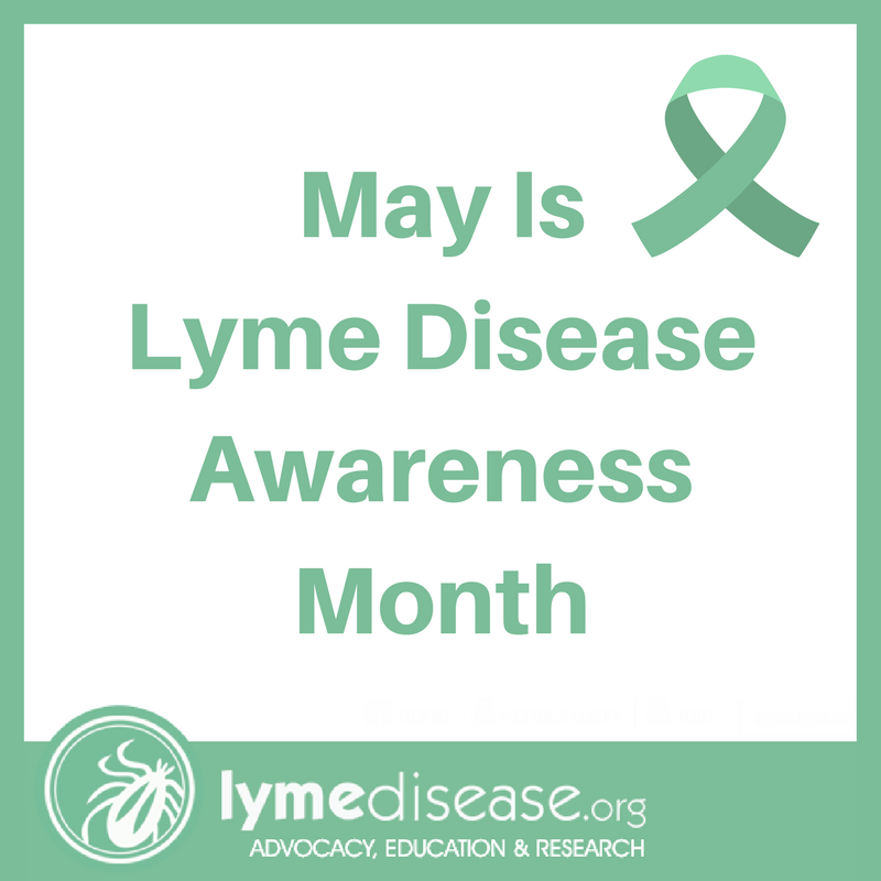 Lyme Awareness month 2018