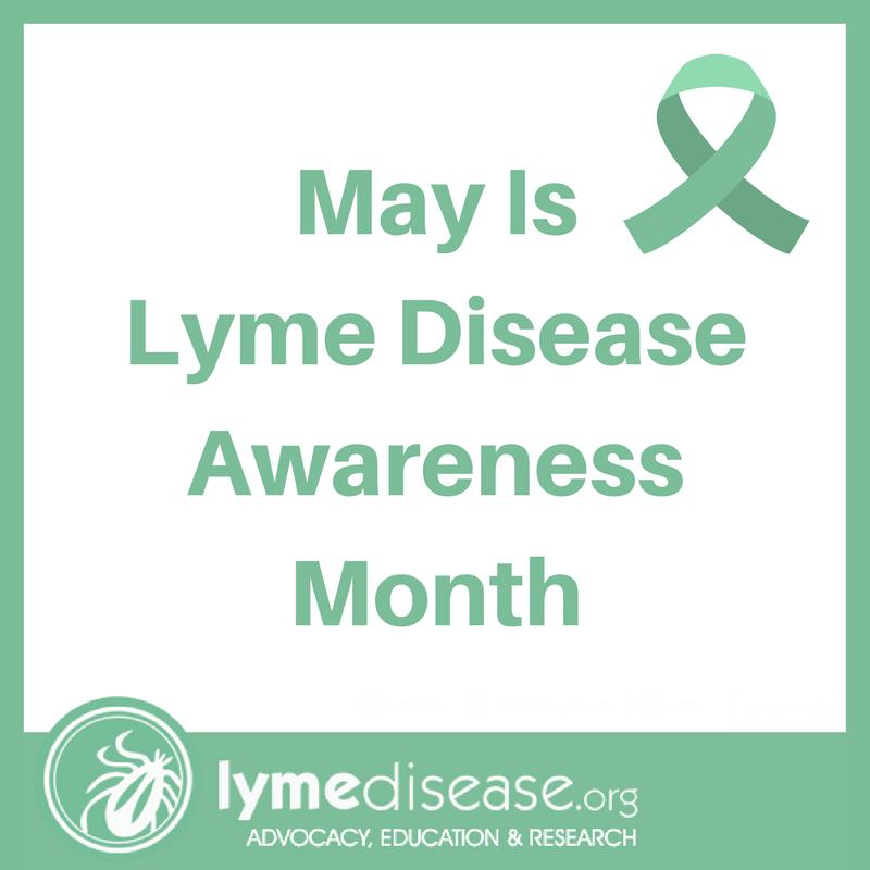 Lyme Awareness month 2018