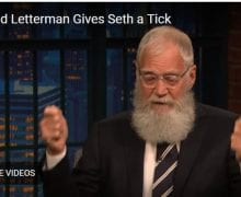 Letterman gives tick to Seth Myers