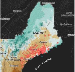 Ticks in Maine