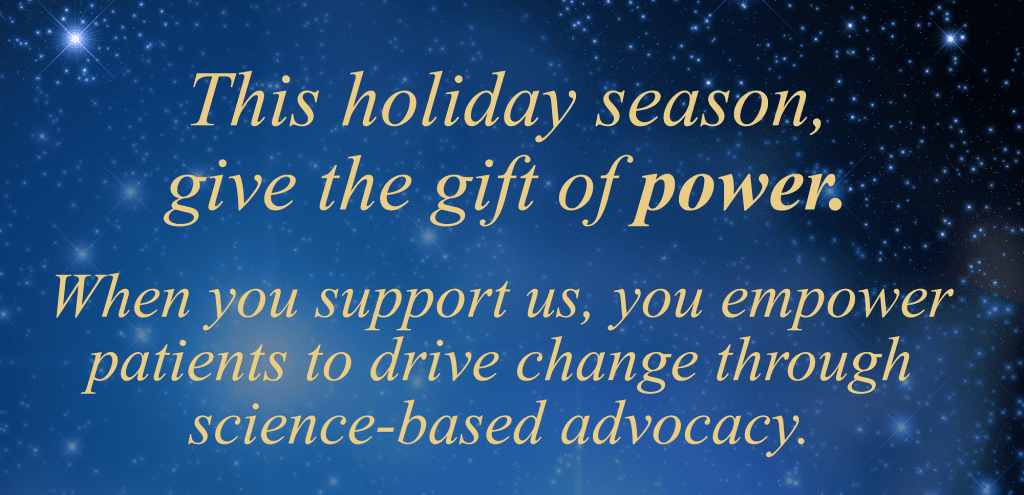 Give the gift of power--donate to LymeDisease.org