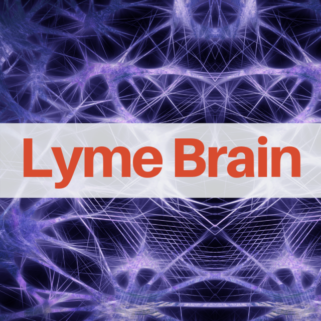 Brain inflammation with Lyme disease