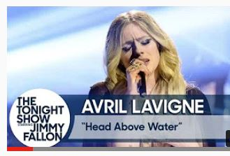 Avril Lavigne sings about Lyme disease