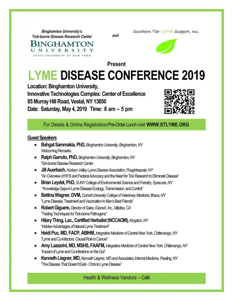 Southern Tier Lyme Conf 2019