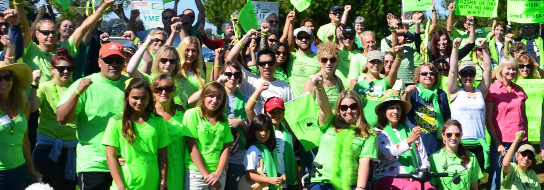 lyme disease walk and health fair