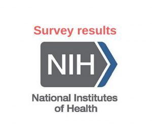 NIH survey results