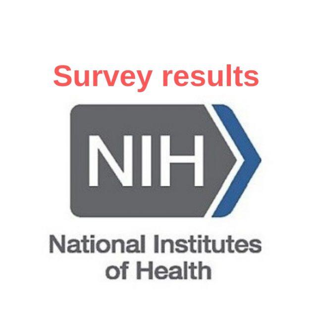 NIH survey results