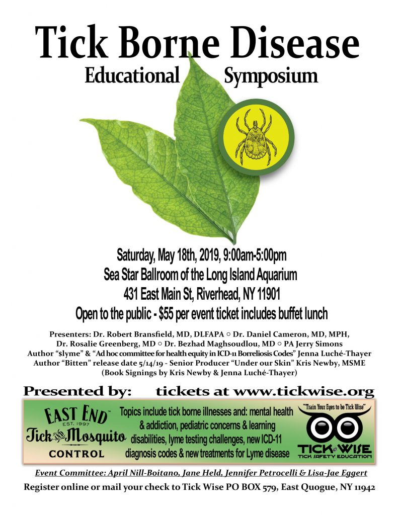 tick wise event flyer