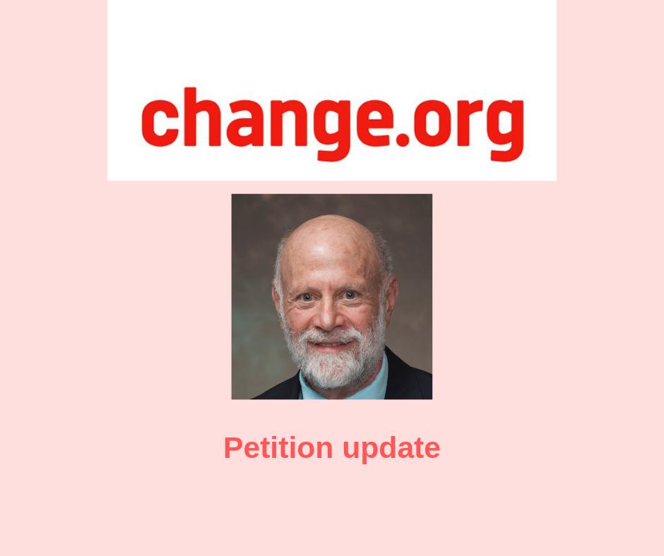 Shapiro petition update