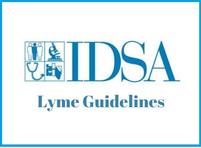 idsa lyme guidelines