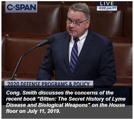Chris Smith Lyme investigation
