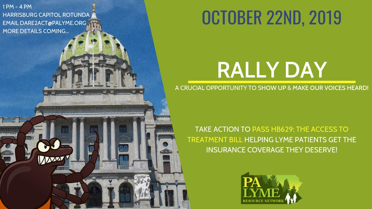 PA rally day for Lyme insurance bill