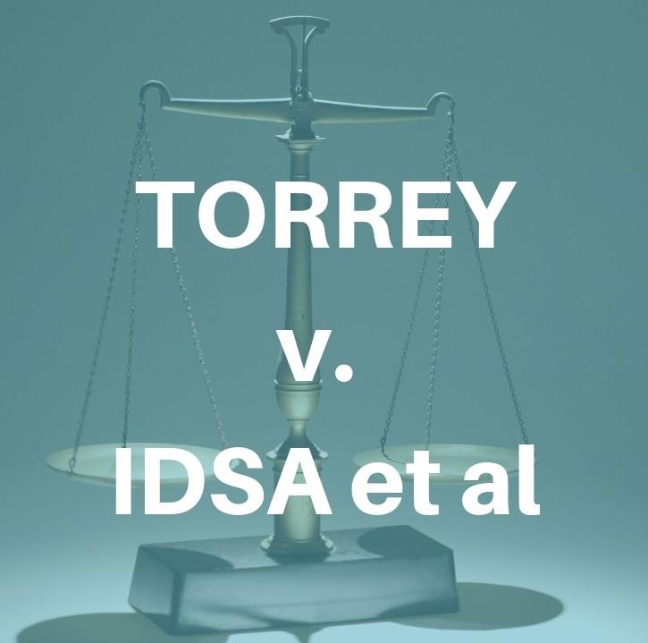 Torrey v IDSA et al Lyme lawsuit