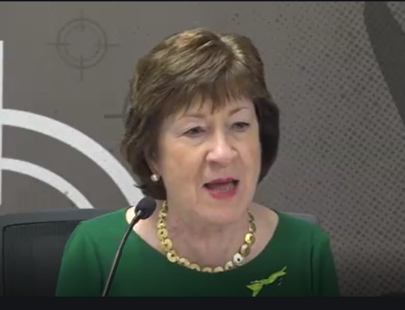 US Sen. Susan Collins, TICK Act